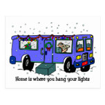 Christmas on the Road postcards