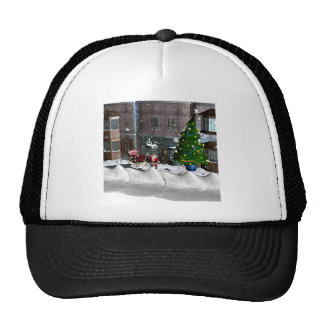Christmas on Town Square Trucker Hat