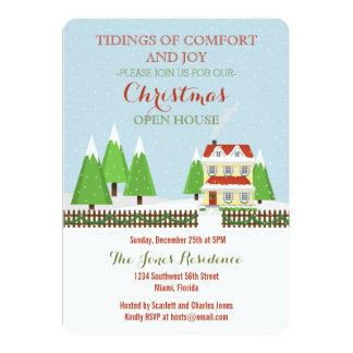 Christmas Open House Card