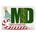 CHRISTMAS OPTOMETRIST - EYE DOCTOR CARDS