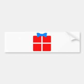 Christmas or Birthday Gift Bumper Sticker