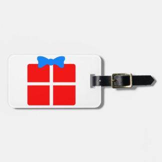 Christmas or Birthday Gift Luggage Tag