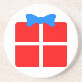 Christmas or Birthday Gift Sandstone Coaster