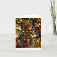 Christmas or Holiday card - Ornaments Design 4