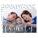 Christmas Or New Years Happy Holiday Family Photo Card at Zazzle