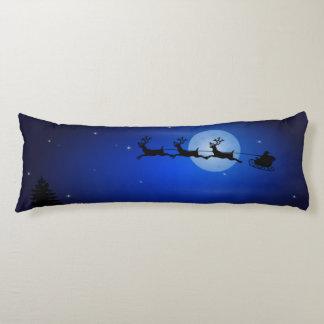 Christmas or Winter Scene 2-Sided Body Pillow