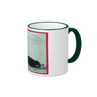 Christmas Orca San Juan Island Merry Christmas Mugs