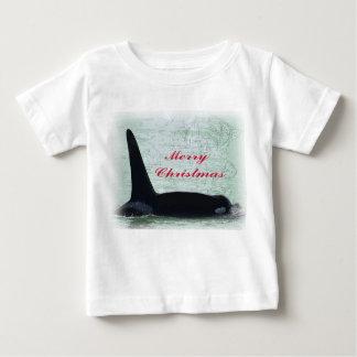 Christmas Orca San Juan Island Merry Christmas T-shirt