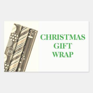Christmas Organizing Labels - Gift Wrap