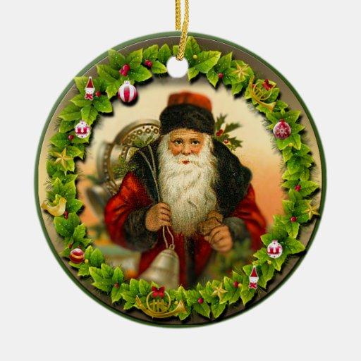 Christmas ornament vintage style zazzle