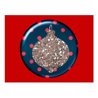 Christmas Ornament Ball Postcard