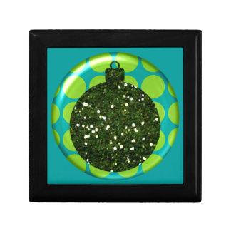 Christmas Ornament Ball Small Tile giftbox Gift Box