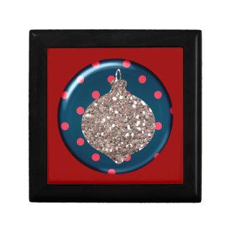 Christmas Ornament Ball Tile giftbox Gift Box
