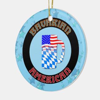 Christmas Ornament Bavarian American German