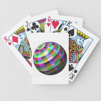 Christmas Ornament Bicycle Playing Cards