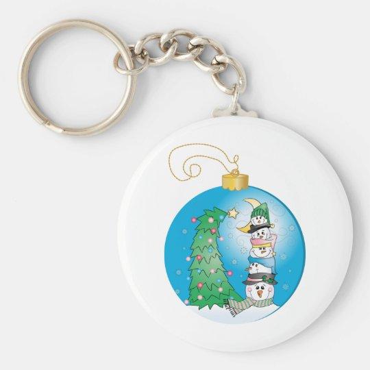 Christmas Ornament/Boules de Noël Keychain