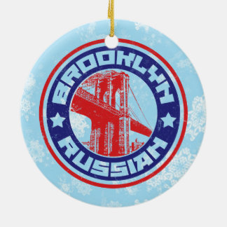 Christmas Ornament Brooklyn Russian American