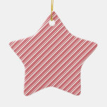Christmas Ornament Candy Cane Stripe Background