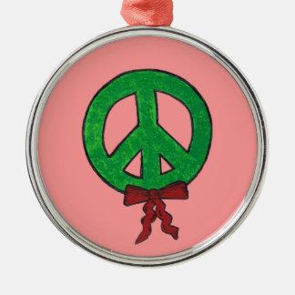 Christmas Ornament-Christmas peace wreath