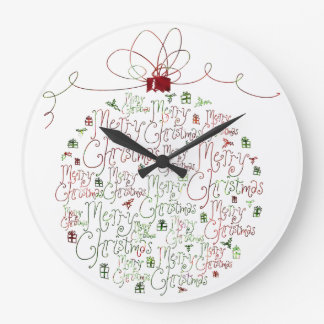 Christmas Ornament Clock