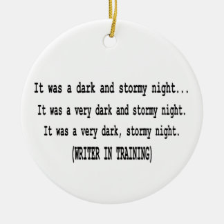 Christmas Ornament for Writers