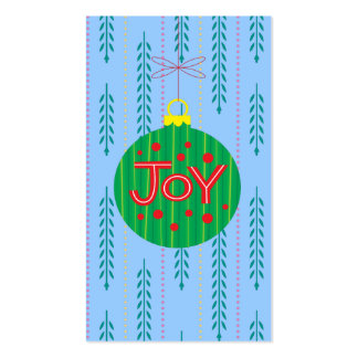 Christmas Ornament Gift Tag Double-Sided Standard Business Cards (Pack Of 100)
