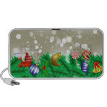 Christmas Ornament Glitter Speakers