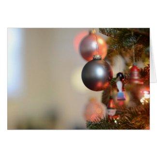 Christmas Ornament Greeting Card