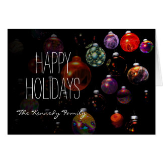 Christmas Ornament Group Card