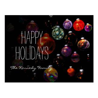 Christmas Ornament Group Postcard