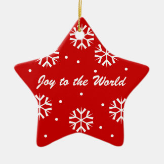 Christmas Ornament Joy to the World