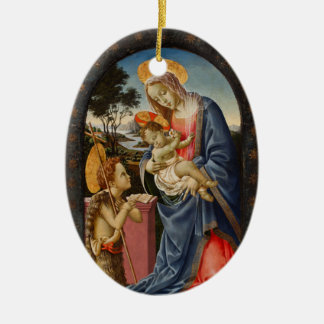 Christmas Ornament - Mary and Baby Jesus