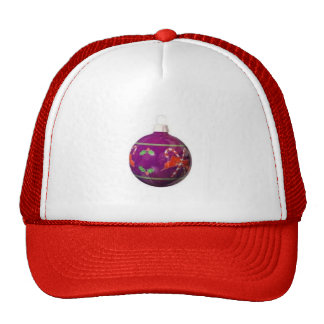 Christmas Ornament Mens Hat