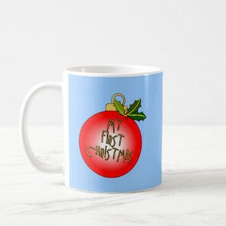Christmas Ornament MY FIRST CHRISTMAS Coffee Mug