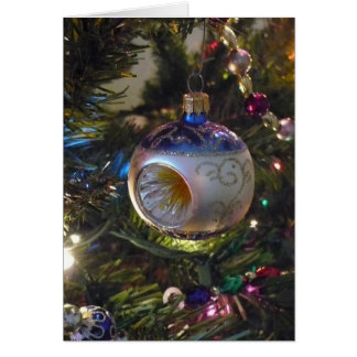 Christmas Ornament Note Card