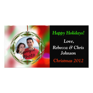 Christmas Ornament Photo Greeting Card
