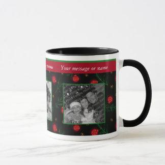 Christmas Ornament Photo Mug