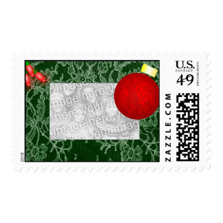 Christmas Ornament Photo Postage