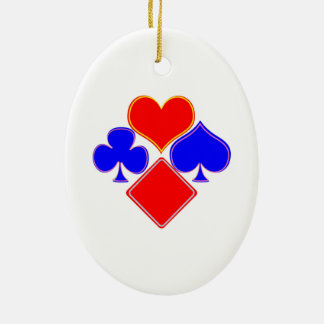Christmas Ornament POKER Playing Cards Symbols DIY
