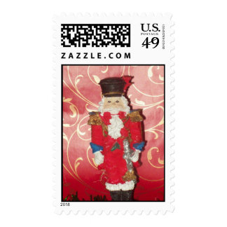 Christmas Ornament Postage Stamp