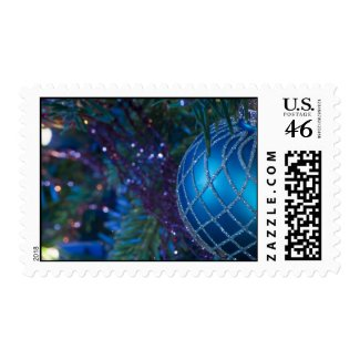 Christmas Ornament Postage Stamps