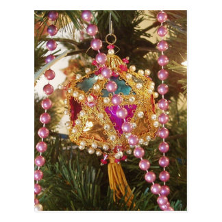 Christmas Ornament Postcard