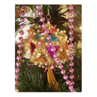 Christmas Ornament Postcard