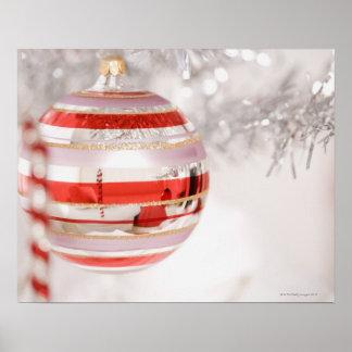 Christmas ornament poster