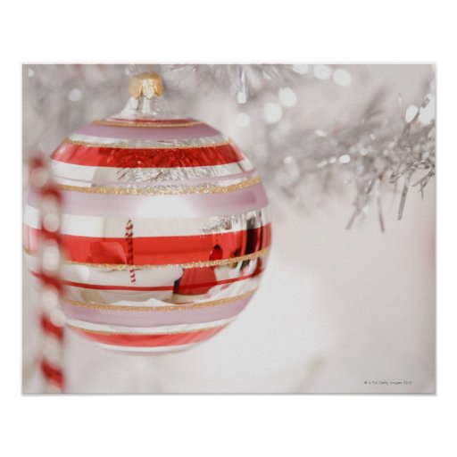 Christmas ornament posters