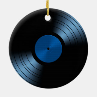 Christmas Ornament - Retro Vinyl Record