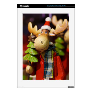 Christmas ornament Santa Claus Moose Decal For The PS3