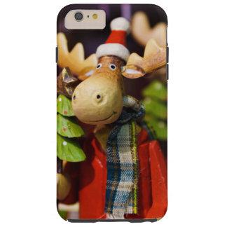 Christmas ornament Santa Claus Moose Tough iPhone 6 Plus Case