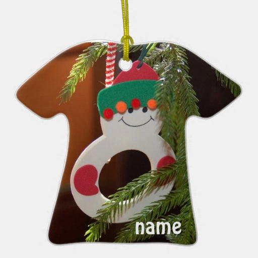 Christmas Ornament - Snowman T-Shirt