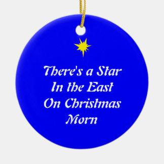 Christmas Ornament: Star in the East